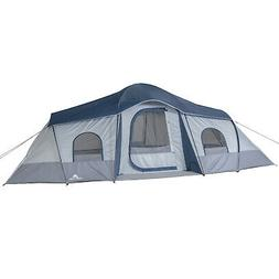 Ozark Trail 10 Person 3-Room Cabin Tent with 2 Side Entrance