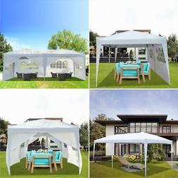 10'x20' Pop Up Gazebo Canopy Party Tent Fold Marquee Awning