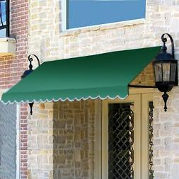 Awntech 3-Feet Dallas Retro Window/Entry Awning, 44 by 36-In