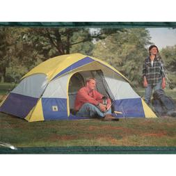 4 Person Outdoor Hiking Camping Tent w/ Rainfly Awning | 9'