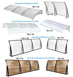"40×80"" 40×120"" door Window Awning Patio Cover Canopy UV Ra"