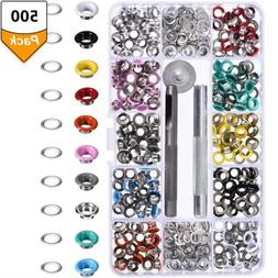 500pcs Grommet Eyelet With Washer Installation 5mm Tent Awni