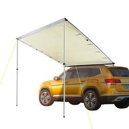 6.6x8.2' Car Side Awning Rooftop Tent Sun Shade SUV Outdoor