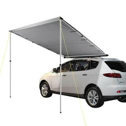 6.6x8.2ft Car Side Awning Rooftop Tent Sun Shade SUV Outdoor