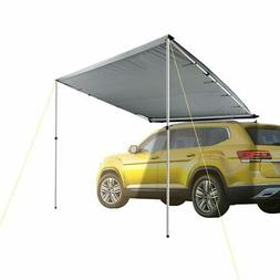 7.6x8.2ft Car Side Awning Rooftop Tent Sun Shade SUV Outdoor