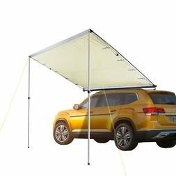 7.6x8.2' Car Side Awning Rooftop Tent Sun Shade SUV Outdoor