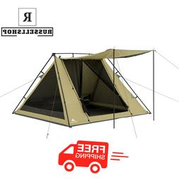 Ozark Trail 8' x 7' 4-Person A-Frame Tent with Awning Wa