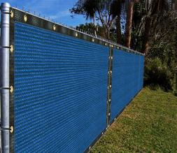 9'x3'-9'x100' Blue Fence Privacy Screen Mesh Net Canopy Awni