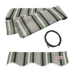 ALEKO Fabric Replacement For 6.5x5 Ft Retractable Awning Mul