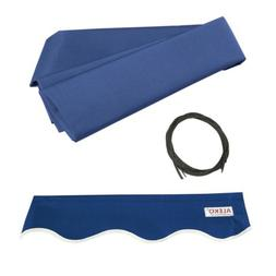 ALEKO Fabric Replacement For 6.5x5 Ft Retractable Awning Blu