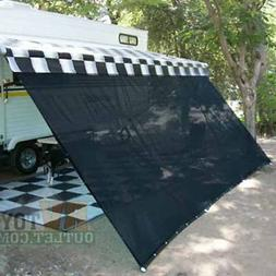 black rv awning shade complete kit 10