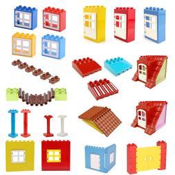 Building Blocks Walls Windows Doors Roof Awning Accessories