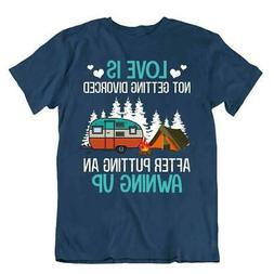Camping Outside Trip T-Shirt Tee Cool Gift Cute Funny Outdoo