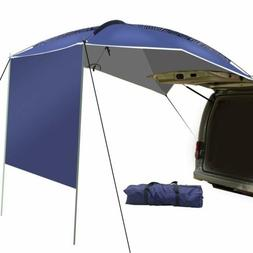 UBOWAY Car Rear Tent Awning Sun Shelter Waterproof SUV Outdo