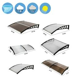 Door Window Outdoor Awnings PC Hollow Sheet Shade Cover Cano