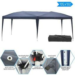 Easy Pop Up Canopy Cover Gazebo Outdoor Wedding Party Tent 1