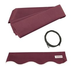 ALEKO Fabric Replacement For 6.5x5 Ft Retractable Awning Bur