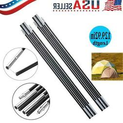 Fiberglass Camping Tent Pole Bars Awning Support Rod Outdoor