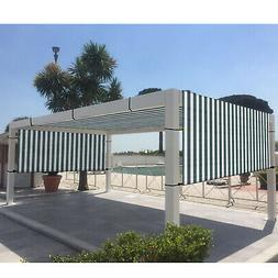 Green white Universal Canopy Cover Replacement for Pergola S