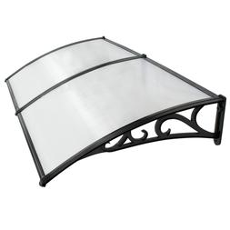 "40"" x 80"" Outdoor Polycarbonate Front Door Window Awning Pat"