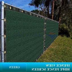 Ifenceview 11FT  Width Green Fence Privacy Screen Mesh Awnin