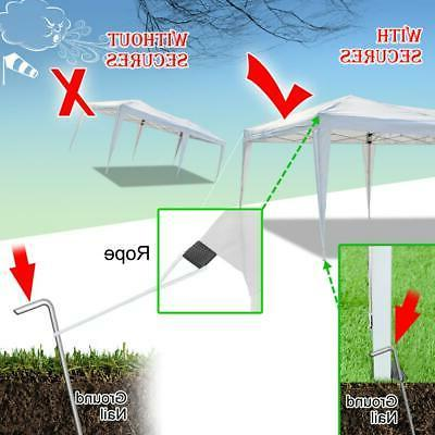 10'x20' Pop Up Canopy Party Tent Fold Carry