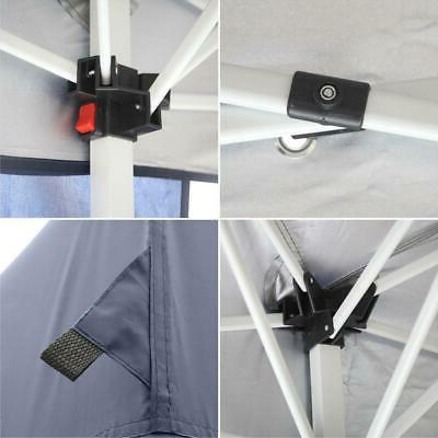 10'x20' Pop Canopy Fold Awning Walls Side Carry