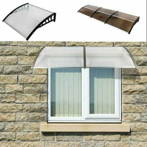 """40""""x80""""/120"""" Outdoor Front Window Awning Cover"""