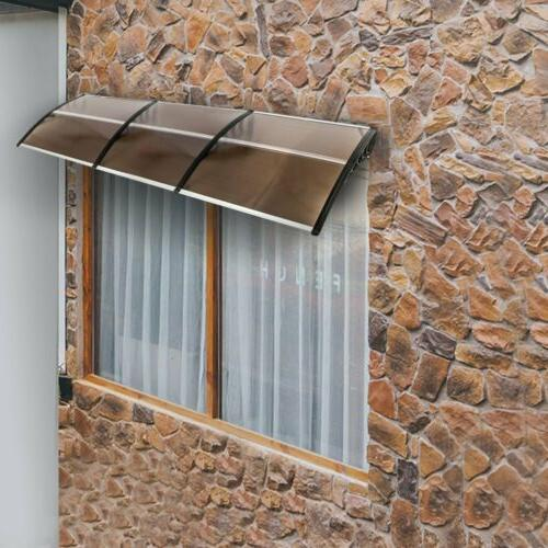 """40""""x80""""/120"""" Front Window Awning Cover UV"""