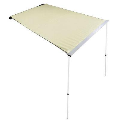 6.6x8.2' Car Side Rooftop Tent Shade SUV Outdoor Camping Travel Beige