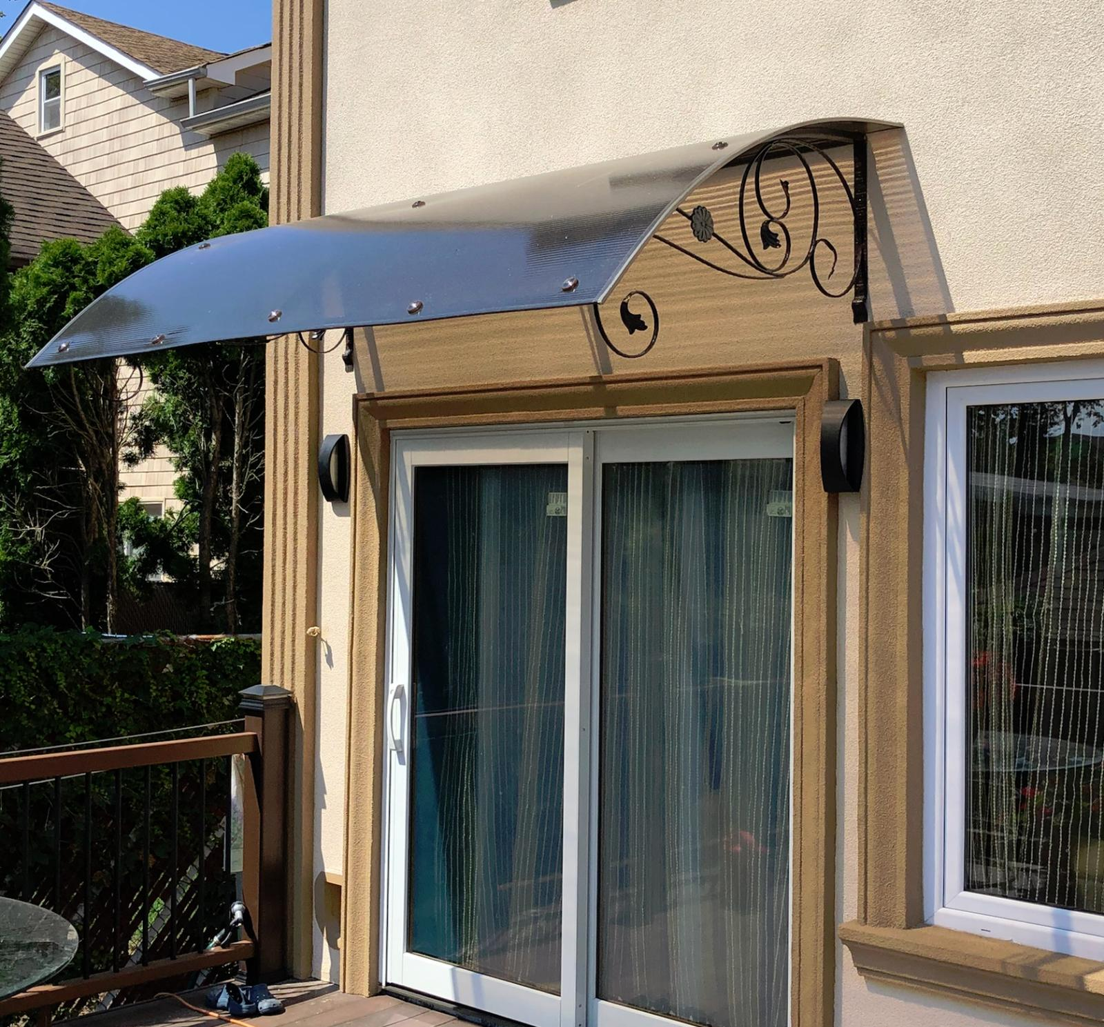 awning for door or window made to