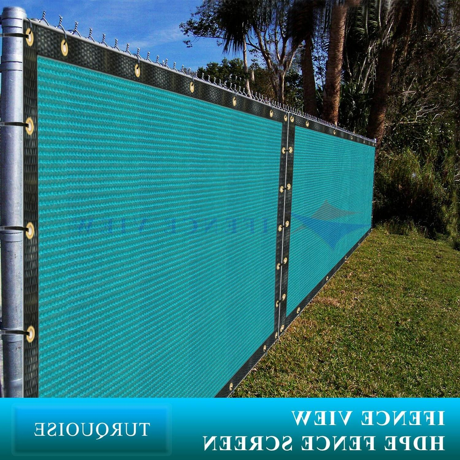 ifenceview 9 x1 9 x100 turquoise fence