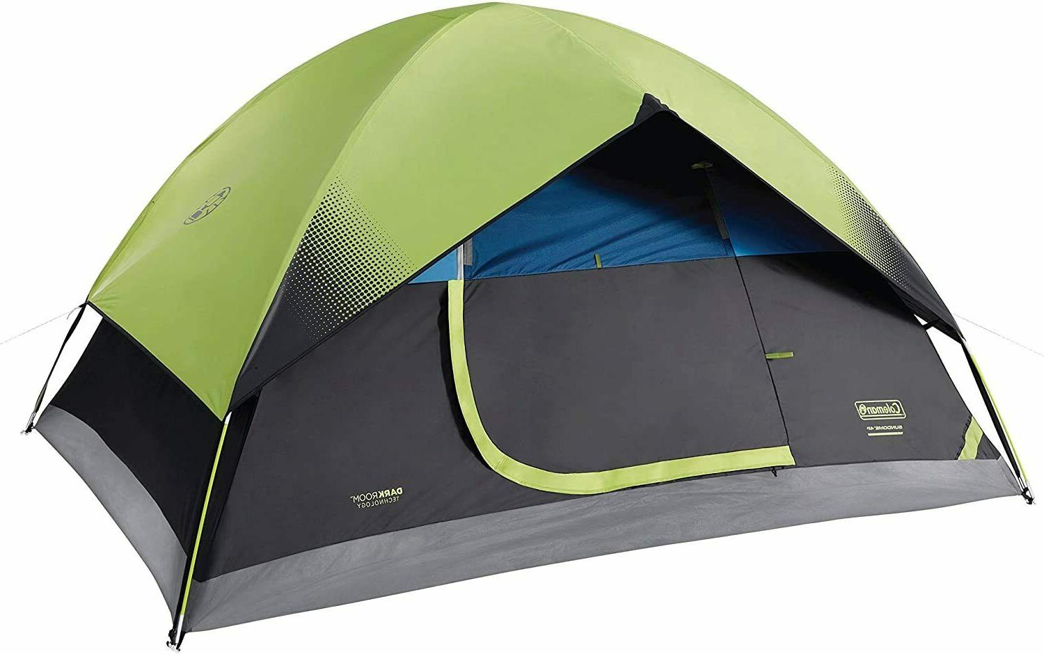 nice tent camping dark room 4 person
