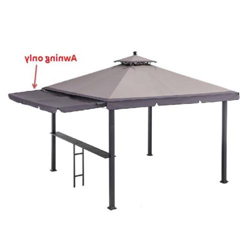 original manufacturer replacement sunshade for 10x10 gazebo