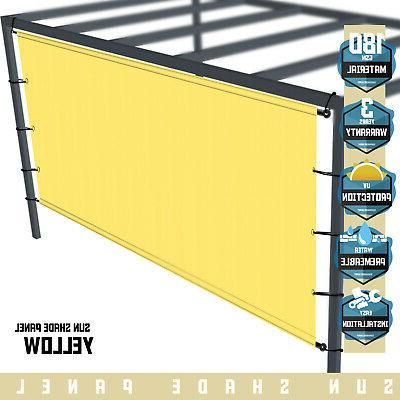 yellow universal canopy cover replacement for pergola