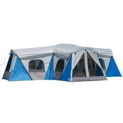Large Ozark Trail 16 Person Family Cabin/Tent with a indoor