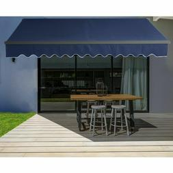 ALEKO Motorized Retractable Home Patio Canopy Awning 20'x10'