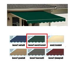 NEW!  Sunsetter Motorized XL Awning Replacement Fabric Fores