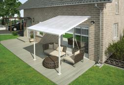 OHIO PICKUP ONLY Palram Feria 10' x 10' Patio Cover Awning C