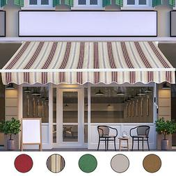 Outdoor 13'x8' Patio Awning Sun Shade Exterior Canopy Shelte