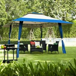 Outdoor Folding Gazebo Canopy Shelter Awning Tent Patio