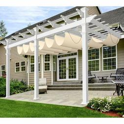 Windscreen4less Outdoor Retractable Shade Awning Cover for P