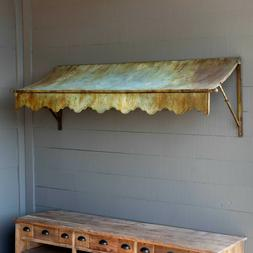 Patina Metal Awning 72.5 in