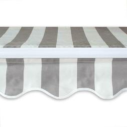 Patio Awning Shade Mount Frame Weather Proof Heavy Duty Dura