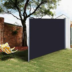 Retractable Side Awning Outdoor Garden Wall Wind Screen Priv