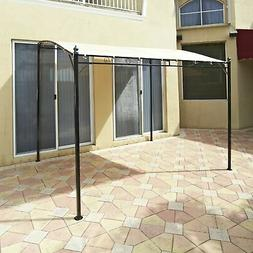 Sunshade Awning Gazebo with Polyester Shade, Steel Stand