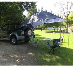 US Car Rear Tent Awning Sun Shelter Waterproof SUV Outdoor C