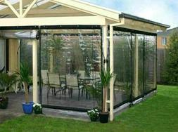 Waterproof Commercial 0.5mm PVC Clear Awning Canopy Patio Ro