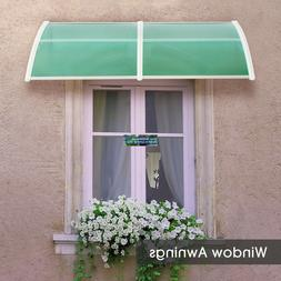 Window Awnings Patio Cover Canopies UV Rain Snow Protection